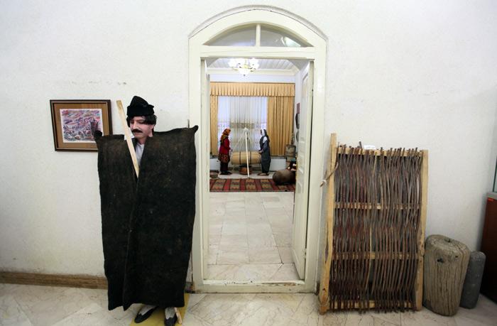 نوستالژی سبک زندگی در موزه مردم شناسی ارومیه + عكس